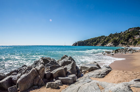 Campsite with direct access to the beach in Tossa de Mar