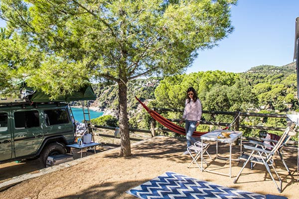 emplacement camping tente pas cher