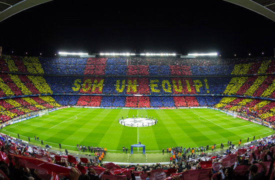 sleep close to the camp nou