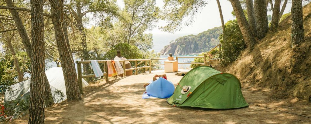 camping pitches on the Costa Brava