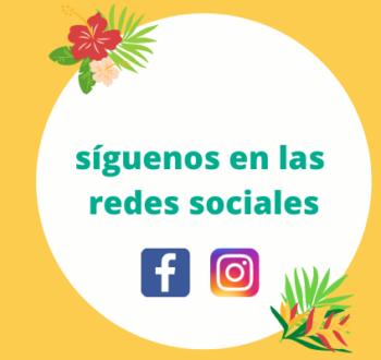 Síganos en Facebook y en Instagram para encontrar todas nuestras noticias.