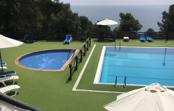 espace aquatique camping Tossa de Mar